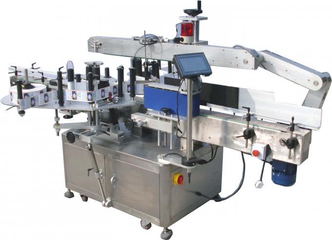 دستگاه برچسب زدن دو طرفه اتوماتیک دو طرفه 220 ولت 3.5 کیلو وات 60-350 قطعه در دقیقه