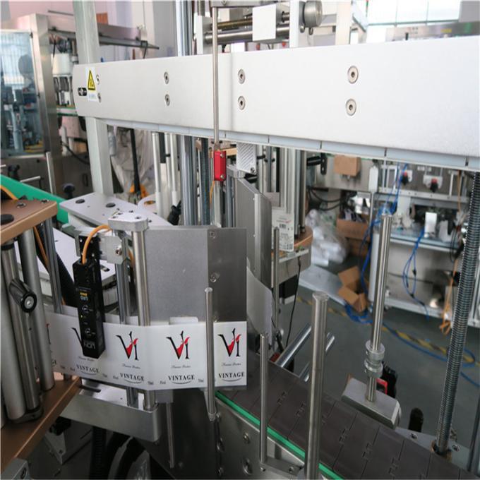 برچسب زدن اتوماتیک برچسب دو طرف دستگاه برچسب ساز برای شیشه پلاستیک