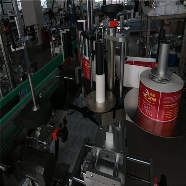 دستگاه برچسب زدن بطری بیضی ، شامپو کاربرد برچسب استیکر و برچسب مواد شوینده