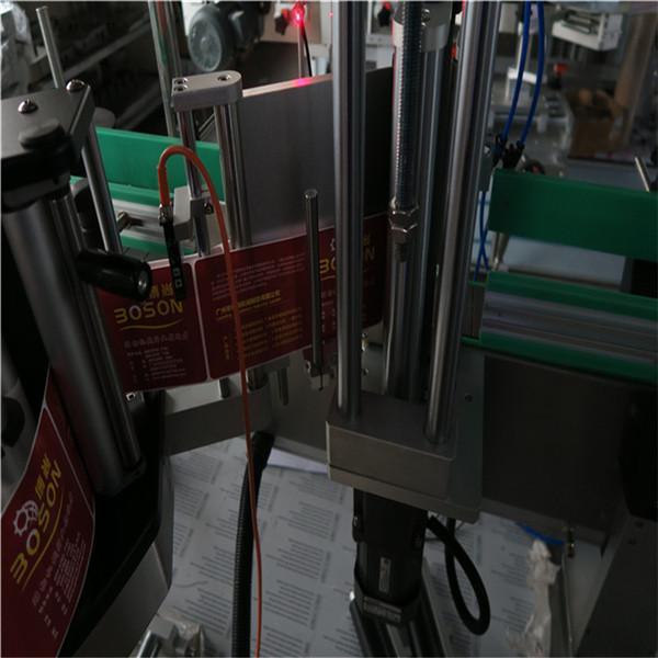 دستگاه برچسب اتوماتیک برچسب CE / دستگاه برچسب زدن حساس به فشار برای بطری ها