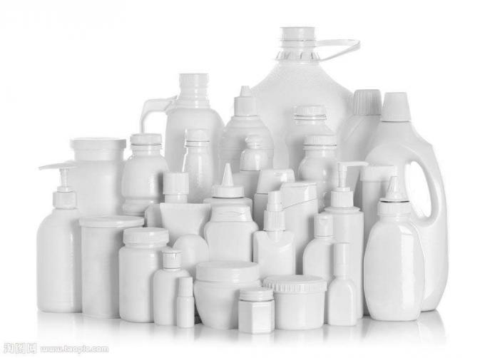 دستگاه برچسب زدن بطری پلاستیکی برای محصولات شیمیایی ، PLC و سیستم کنترل صفحه لمسی