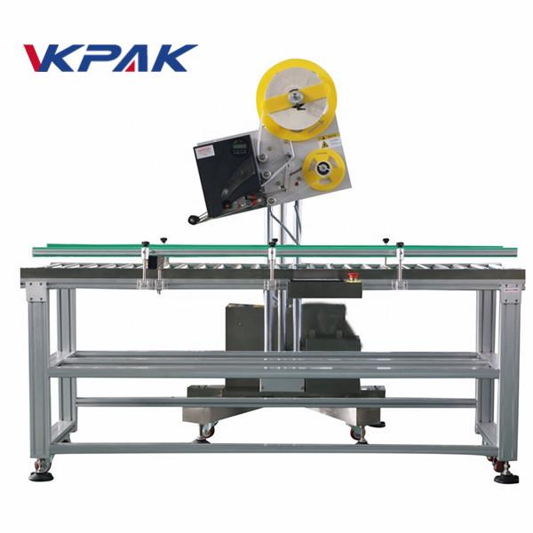 اپلیکیشن برچسب صنعتی پاکت خودکار برای جعبه کاغذ تولید مقیاس کوچک