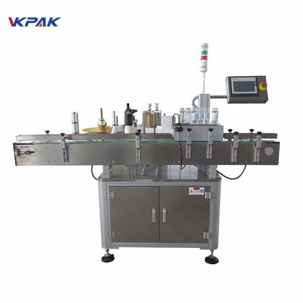 برچسب اتوماتیک دستگاه کاربرد برچسب آبجو بطری 220V 1.5H
