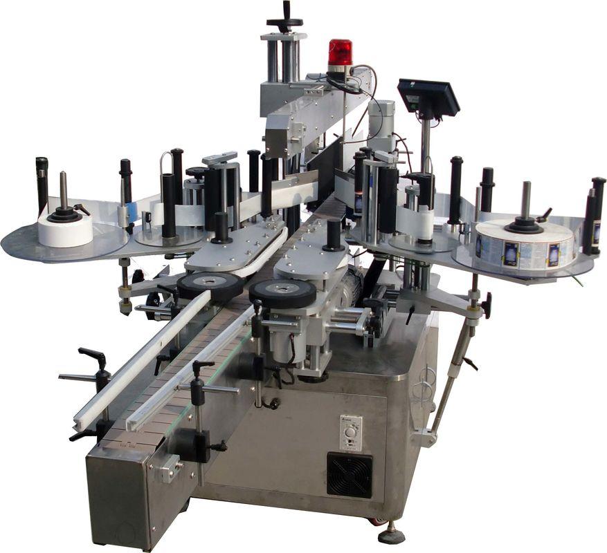 دستگاه برچسب زدن اتوماتیک سطح مسطح برای کارخانه کیسه ها با سرعت بالا