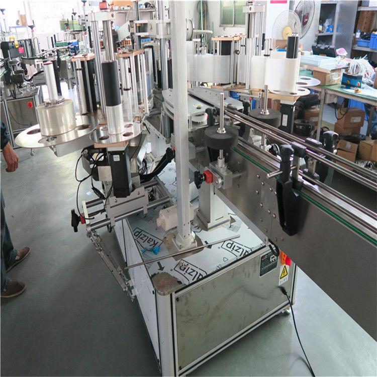 چین پلاستیکی Buket تک ماشین برچسب زدن با سرعت بالا ، دو طرف برچسب زدن ماشین تامین کننده