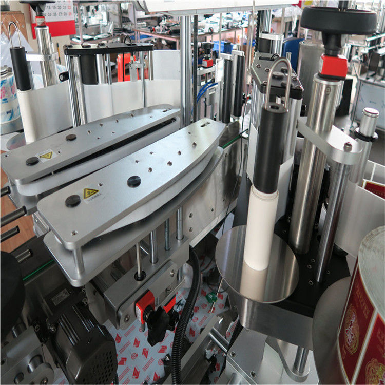 China Fully Automatic Self Adhesive Sticker Labeling Machine Double Sided supplier