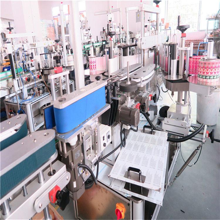 ماشین بطری دو طرفه بطری چین برای شیشه های مختلف بطری مربع تخت تامین کننده