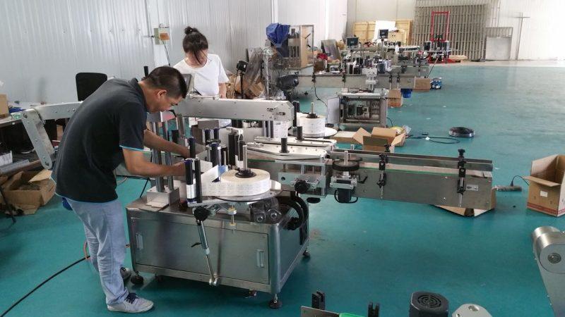 چین ماشین برچسب زدن بطری آب سفارشی ، ماشین برچسب زن نیمکت برای دو طرف تامین کننده