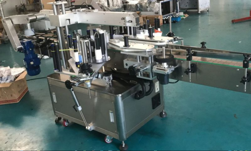 China High Speed Double Side Sticker Labelling Machine for Square / Round / Flat Bottle supplier