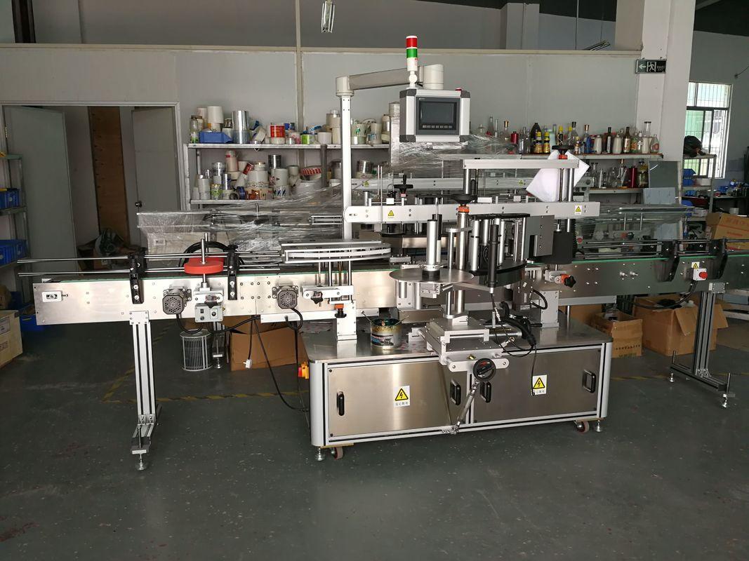 دستگاه برچسب زدن بطری تخت برچسب خود چسب با سرعت بالا 5000-1000B / H