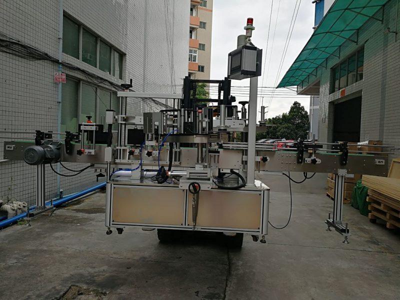 چین برچسب اتوماتیک برچسب دو طرف دستگاه برچسب ساز برای شیشه پلاستیک تامین کننده