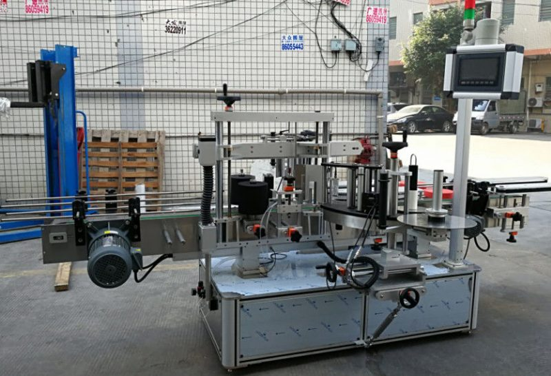 China Full Automatic Sticker Labeling Machine , Self-Adhesive Label Applicator Machine For Bottles supplier