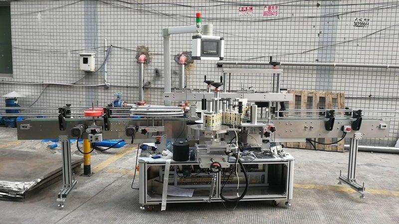چین ماشین برچسب زدن بطری مربع چسب اتوماتیک دو طرفه تامین کننده