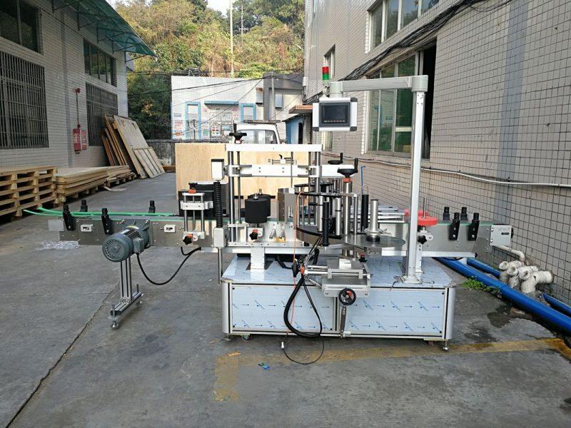 چین برچسب اتوماتیک دستگاه برچسب زدن بطری تخت جلو و عقب یکپارچه تامین کننده