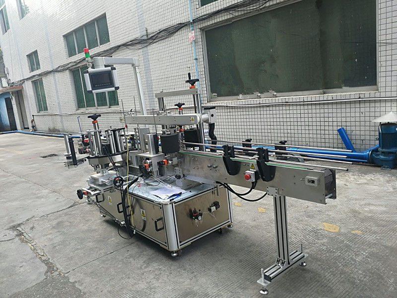 چین برچسب خود چسب ماشین دو طرفه برچسب زدن بطری کاملا اتوماتیک تامین کننده